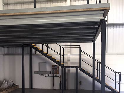 external flooring solutions. mezzanine flooring external solutions